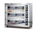 3-Layer 9-Tray Automatic Gas Food Oven K267