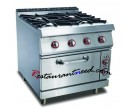 Gas Range With 4-Burner & Cabinet K269
