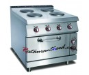 4 Hot-plate Cooker With Electric Oven K275